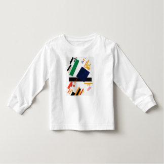 Camiseta Infantil Composição de Suprematist por Kazimir Malevich
