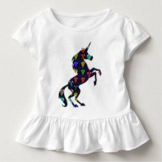 Camiseta Infantil Compra pintada da forma do conto de fadas do