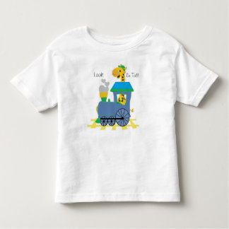 Camiseta Infantil Condutor do girafa