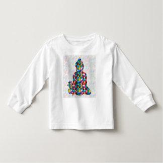 Camiseta Infantil Consciência de BUDDHA: Paz da religião do budismo