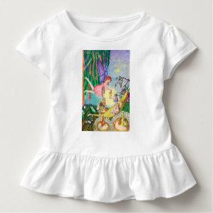 Camiseta Infantil conto de fadas
