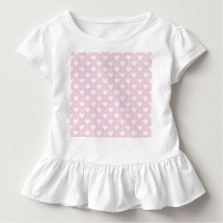 Camiseta Infantil Corações Pastel dos namorados