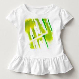 Camiseta Infantil Cores ácidas do primavera