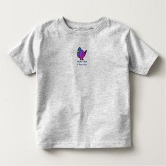 Camiseta Infantil Costume cinzento da parte superior do jérsei da