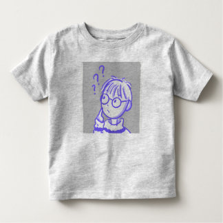 Camiseta Infantil Criança curiosa do t-shirt do menino