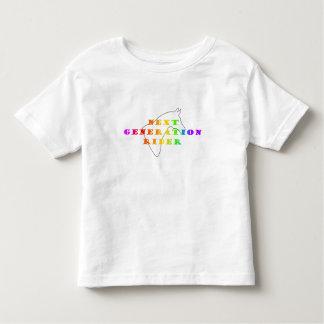 Camiseta Infantil Criança da cor do cavaleiro da próxima geração