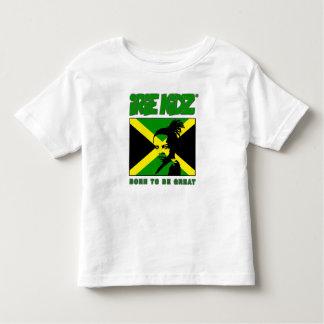 """Camiseta Infantil Criança de IRIE KIDZ® """"Rasta"""" e t-shirt jamaicano"""