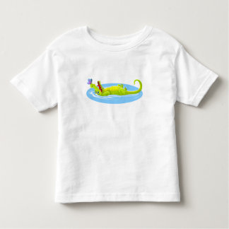 Camiseta Infantil Crocodilo