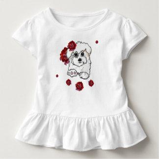 Camiseta Infantil Cupcake bonito Pupy do algodão