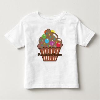 Camiseta Infantil CUPCAKE dobro dos chocolates