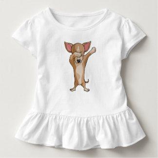 Camiseta Infantil Dança bonito de Dabber da chihuahua da solha