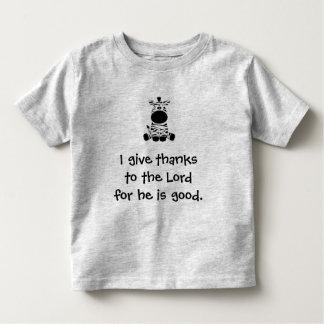 Camiseta Infantil Dê obrigados