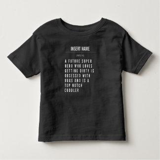 Camiseta Infantil Definição conhecida