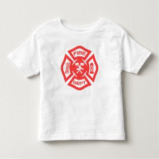 Camiseta Infantil Departamento dos bombeiros