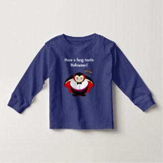 Camiseta Infantil Desenhos animados bonitos do divertimento de uma
