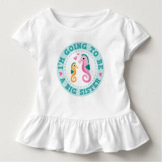 Camiseta Infantil Desenhos animados bonitos Im do cavalo marinho que