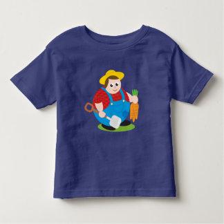 Camiseta Infantil Desenhos animados modernos bonitos de um