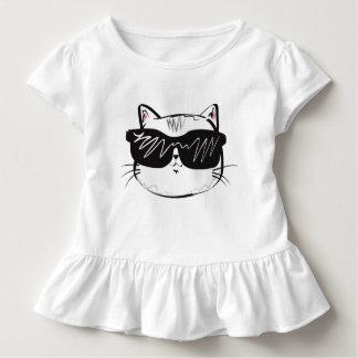 Camiseta Infantil Desgaste legal da criança do gato