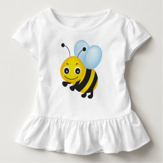 Camiseta Infantil Design bonito da abelha