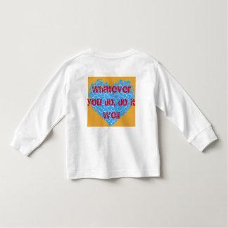 Camiseta Infantil design de pano das crianças