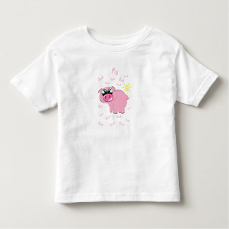 Camiseta Infantil Design do porco