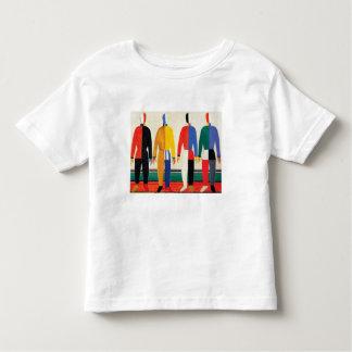 Camiseta Infantil Desportistas por Kazimir Malevich