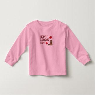Camiseta Infantil Dia feliz 3 de Canadá