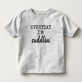 Camiseta Infantil diário eu sou cuddlin