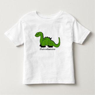 "Camiseta Infantil Dinossauro ""Shamrockasaurus """