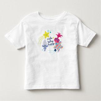 Camiseta Infantil Divertimento dos troll | Glitteriffic