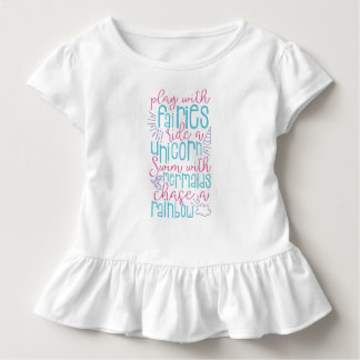 Camiseta Infantil Dizer doce da menina