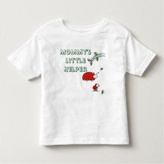 Camiseta Infantil Do inseto pequeno da senhora do ajudante da mamã