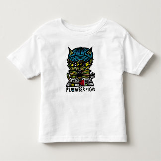 """Camiseta Infantil Do """"t-shirt da criança do Kat canalizador"""""""