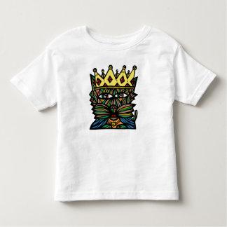 """Camiseta Infantil Do """"t-shirt fino do jérsei da criança rei Kat"""""""