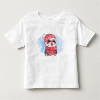 Camiseta Infantil Doninha do inverno