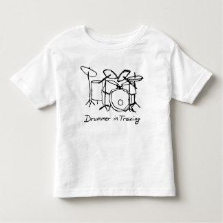 Camiseta Infantil Drmmer no treinamento