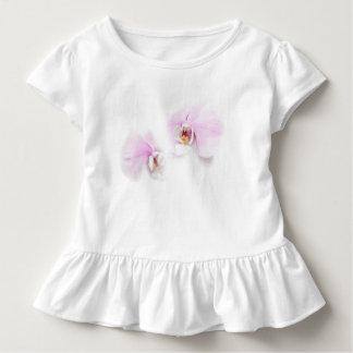 Camiseta Infantil Duo da flor do bordo de Hilo do Phalaenopsis