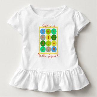 Camiseta Infantil É uma parte superior da criança do gênio da