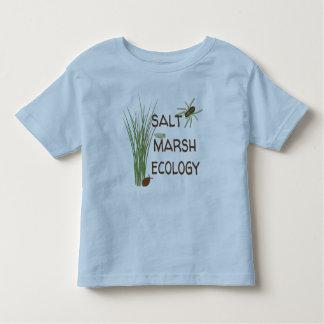 Camiseta Infantil Ecologia do pântano de sal - t-shirt da criança