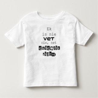 Camiseta Infantil Ek é o veterinário nie do nie, duidelik líquido