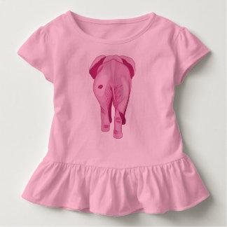 Camiseta Infantil Elefante cor-de-rosa SWAK