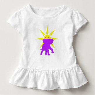 Camiseta Infantil Elefante e Sun