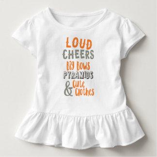 Camiseta Infantil Elogios altos & arcos grandes