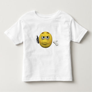 Camiseta Infantil Emoticon do telefone