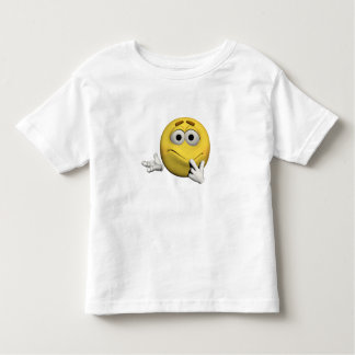 Camiseta Infantil Emoticon pesaroso