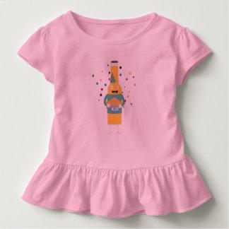 Camiseta Infantil Engarrafador da cerveja do partido com bolo Z4zzo