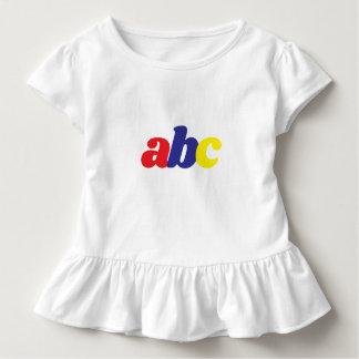 Camiseta Infantil engrenagem da criança do ABC