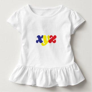 Camiseta Infantil engrenagem da criança do xyz