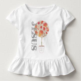 Camiseta Infantil Enraizado e aterrado firme no amor Lm