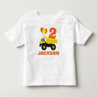 Camiseta Infantil Equipamento do segundo aniversário da construção •